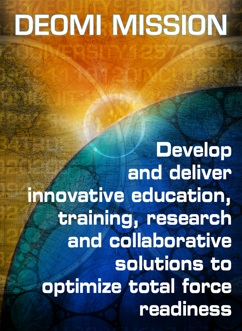 Poster Image of DEOMI Mission Statement