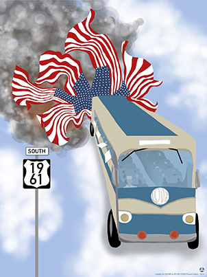 Image of 2019 Freedom Ride Poster