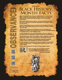 Image 2016 BHM Facts Mini Poster