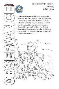 Image of 2018 BHM Activity Book