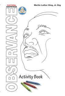 Image of 2016 MLK Activity Book