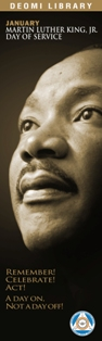 Image of 2016 MLK Bookmark