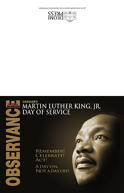 Image of 2016 MLK Invitation