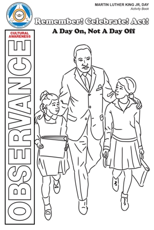 Image of 2019 MLK Activity Book