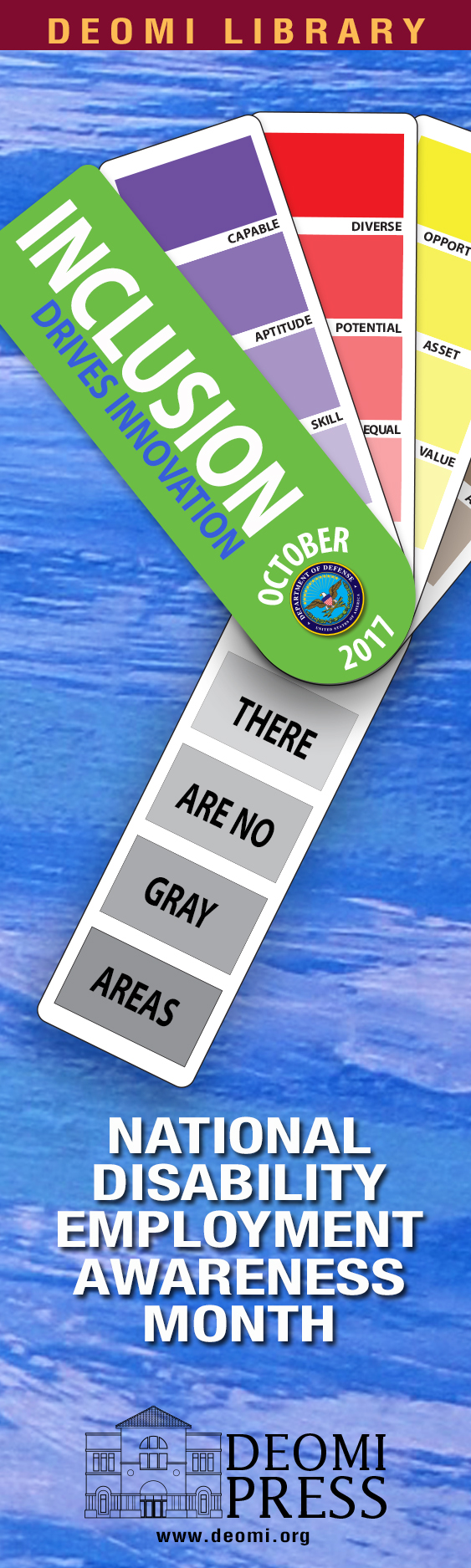 Image of 2017 NDEAM Bookmark