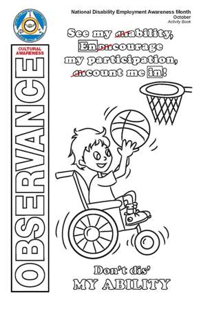 Image of 2018 NDEAM Activity Book