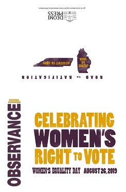 Image of 2019 Women's Equality Day Invitation