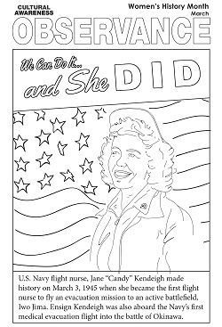 Image of 2020 Women's History Month Activity Book