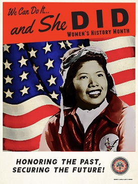 Image of 2020 Women's History Month Poster Version 1